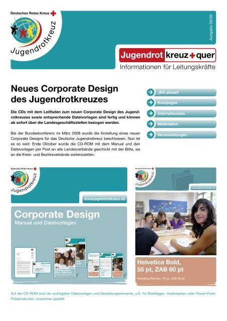 Corporate Design Drk Bezirksverband Rheinhessen Pfalz
