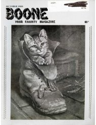 Boone: Your County Magazine Vol 7 Issue 12