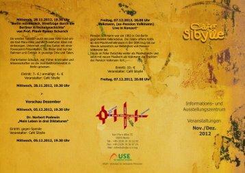 Download Veranstaltungs Flyer November 2012 - USE