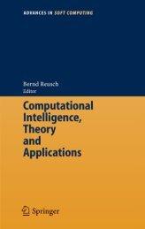 Computational Intelligence, Theory and Applications : International ...