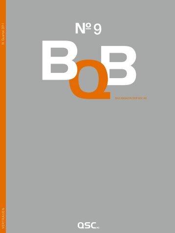 BQB Nr. 9 / Herbst 2011 (pdf). - QSC Blog