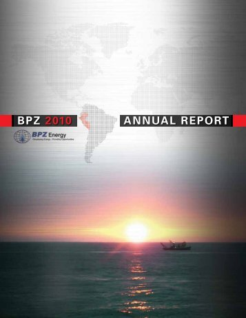 BPZ Resources, Inc. - Shareholder.com