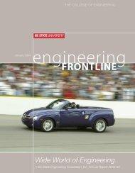 Frontline - College of Engineering - North Carolina State University