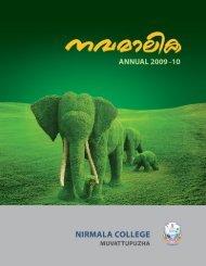 Form IV (See Rule 8) - Nirmala College