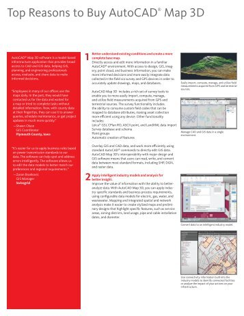 Top Reasons to Buy AutoCAD® Map 3D - Autodesk