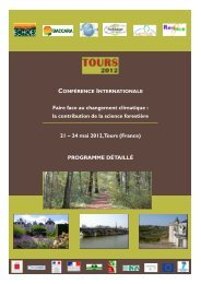24 mai 2012, Tours (France) - GIP-Ecofor