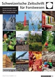 PDF-Datei - Schweizerischer Forstverein