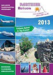 Unser Katalog - Reisebüro Parthier