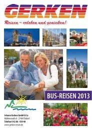 Katalog 2013 - Gerken-Reisen