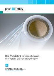 Flyer profiTHEN Verpackungsfolien - Brangs + Heinrich