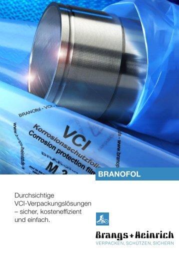 BRANOFOL – transparente Korrosionsschutzfolien für jeden ... - AMW