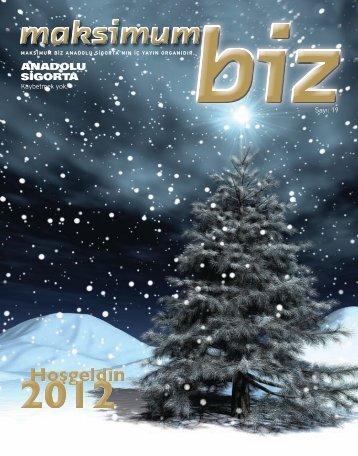 Aralık 2011 - Anadolu Sigorta