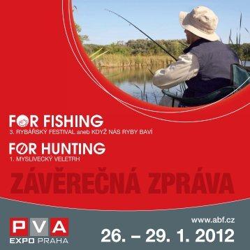 Závěrečná zpráva 2012 - For Fishing