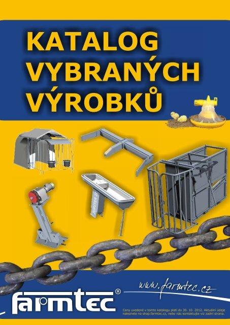 Brožura výrobků - FARMTEC, as