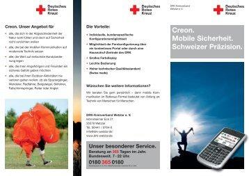 Creon. Mobile Sicherheit. Schweizer Präzision. -  DRK ...