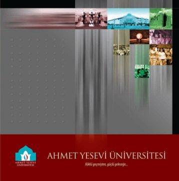 Ocak 2010 - Ahmet Yesevi Üniversitesi