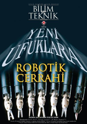 robotik cerrahi robotik cerrahi - Bilim ve Teknik