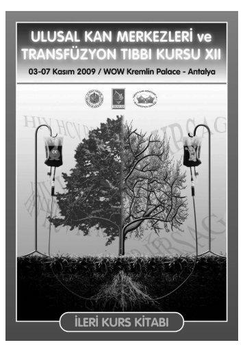 12 ileri kurs1 - Kan Merkezleri ve Transfüzyon Derneği