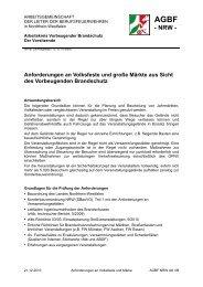 Anforderungen an Volksfeste und große Märkte aus ... - AGBF NRW