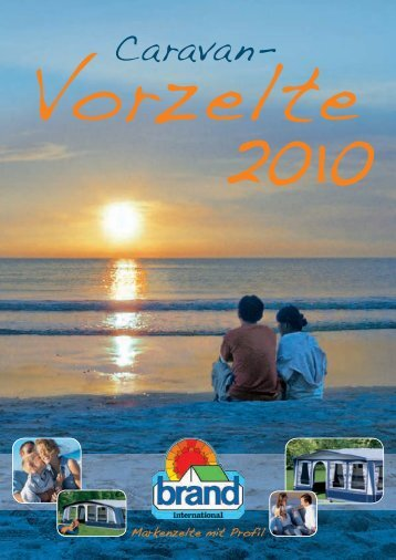 Brand-Katalog 2010 - Caravan Artinoos GmbH Campingzubehör