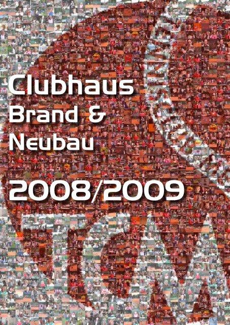 Vereinsbroschüre Clubhaus Brand und Neubau 2008 ... - TC Menden