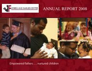 2008 Annual Report.indd - Fathers and Families Center