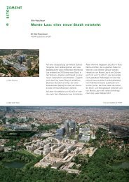 Monte Laa: eine neue Stadt entsteht