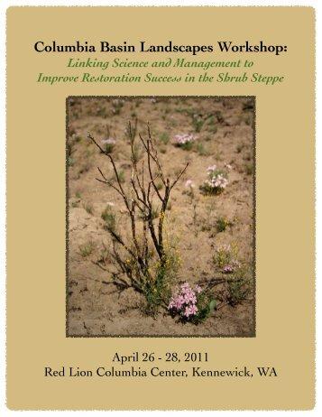 Columbia Basin Landscapes Workshop: - Joint Fire Science Program