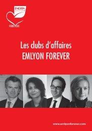 Les clubs d'affaires EMLYON FOREVER