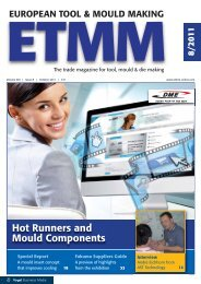 Hot Runners and Mould Components - ETMM-Online