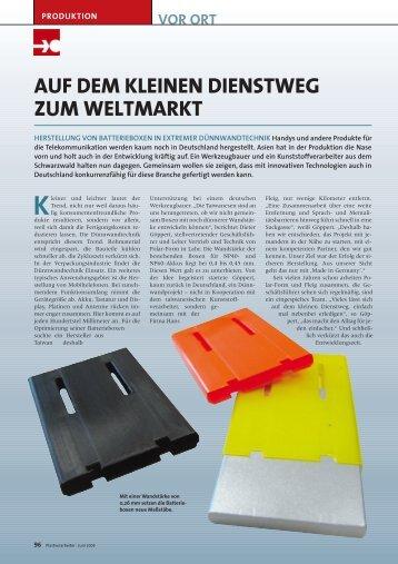 Plast Verarbeiter 06/09 - PDF - +++ Hans Fleig GmbH