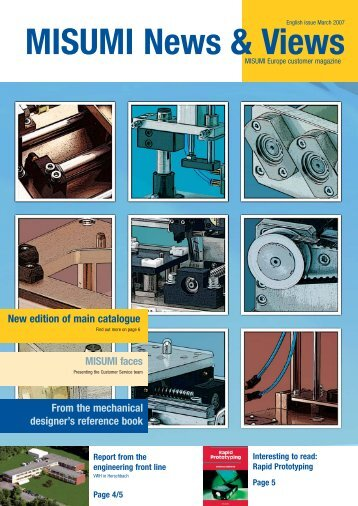 New edition of main catalogue - MISUMI Europe
