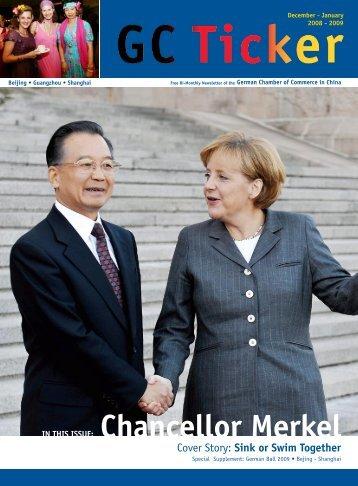 Chancellor Merkel - AHK