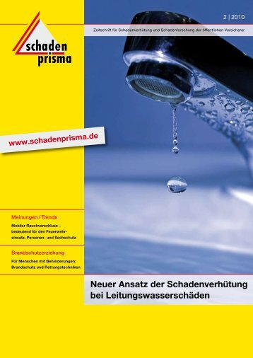 brandschutzerziehung - Institut für Schadenverhütung und ...