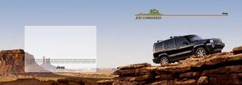 JEEP® COMMANDER - Pentana Solutions