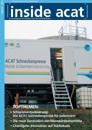 TOPTHEMEN: - Applied Chemicals International ACAT