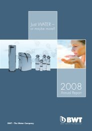 Full Annual Report 2008 - BWT Group
