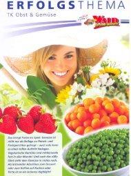 Tiefkühl Obst und Gemüse Angebot
