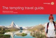 The tempting travel guide. - Schweizer Revue