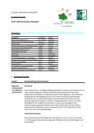 Protokoll Wirtschaft 03.09.2009 - Kreis Steinfurt