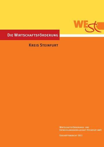 Die Wirtschaftsförderung Kreis Steinfurt - Wirtschaftsförderungs- und ...