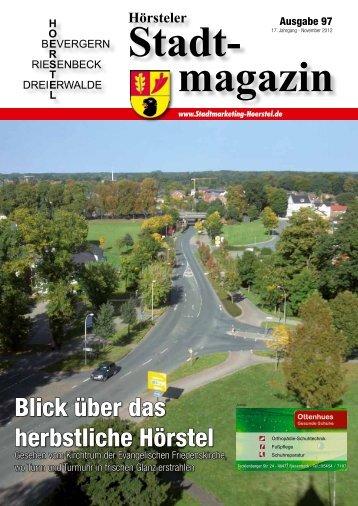 Emsdetten · Hörstel · Münster · Freren · Versmold - Stadt Hörstel