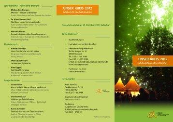 Jahrbuch 2012 - Kreis Steinfurt