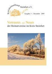 Vertrautes und Neues - Kreisheimatbund Steinfurt