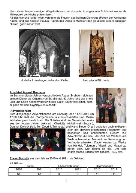 Pfarrbrief zu Advent und Weihnachten - St. Petronilla Wettringen