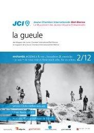la gueule 2/12 - Junior Chamber Biel-Bienne