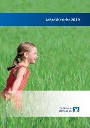 Geschäftsbericht 2010_Geschäftsbericht 2008.qxd - Volksbank ...