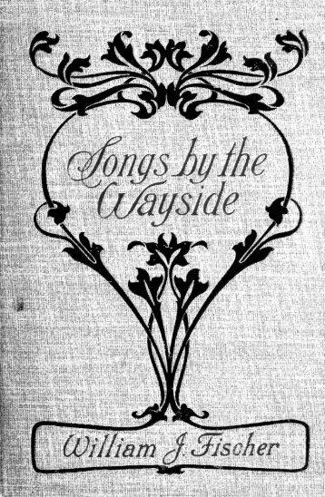 Songs by the wayside