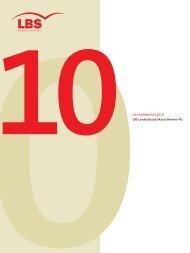 Geschäftsbericht der LBS Bremen 2010