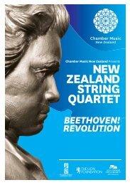 BEETHOVEN! - Chamber Music New Zealand